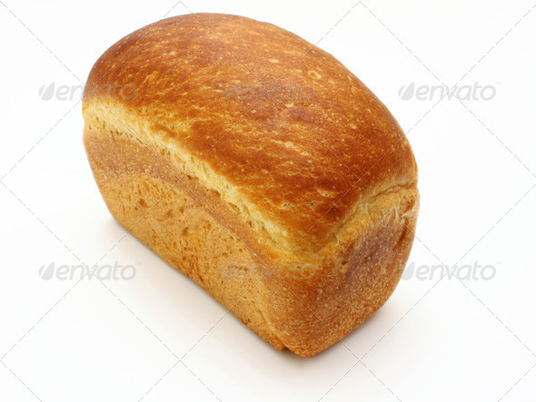 The ruddy long loaf of bread - Stock Photo - Images