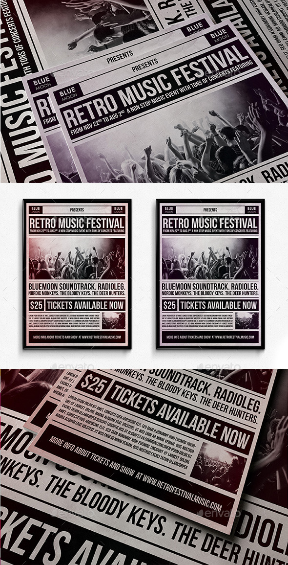 Music Festival Poster - Events Flyers