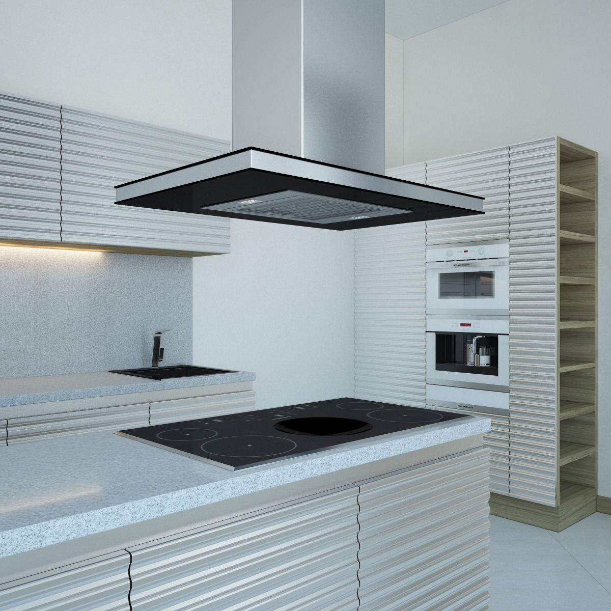 Kitchen Furniture and Appliances Kuppersbusch by Genkot29   3DOcean