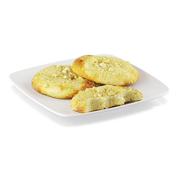Sweet rolls - 3DOcean Item for Sale