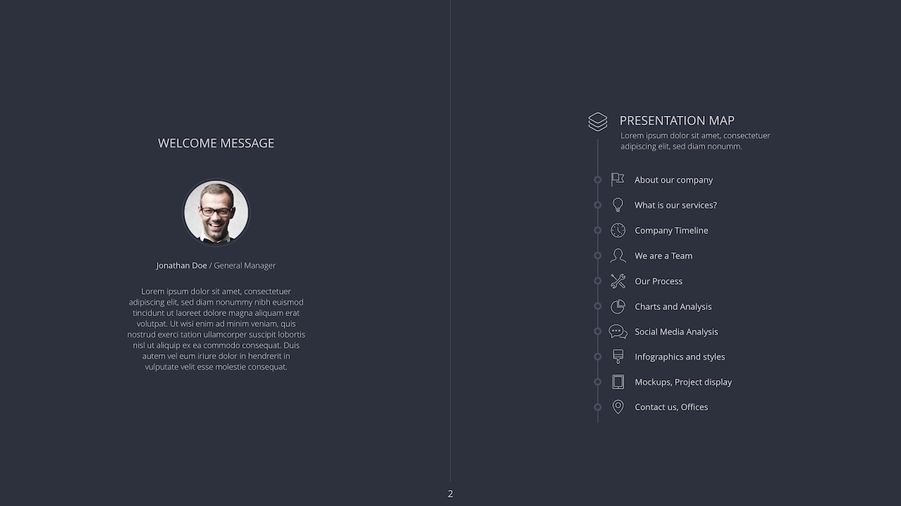 Concept Powerpoint Template by VigitalArt   GraphicRiver