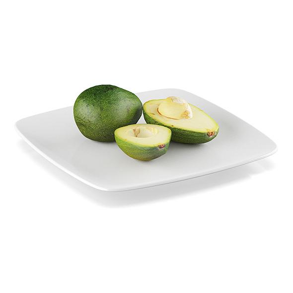 Avocado fruits - 3DOcean Item for Sale