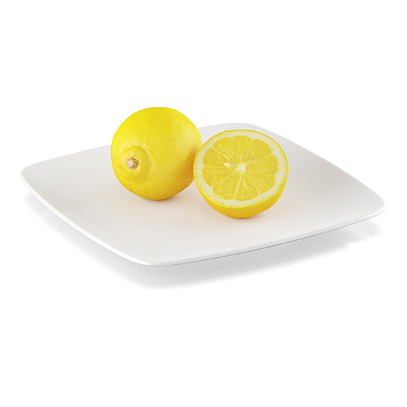 Lemon fruits - 3DOcean Item for Sale