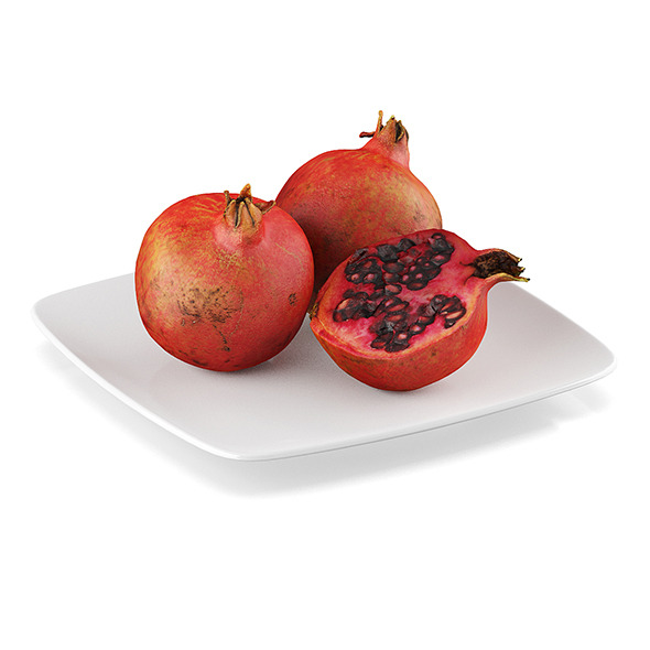 Pomegranate fruits - 3DOcean Item for Sale