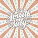 Fourth of July Banner Rugged Preview - GraphicRiver Item for Sale