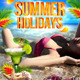 Summer Holidays Flyer Template - GraphicRiver Item for Sale
