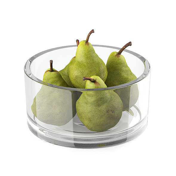 Bowl of pear fruits - 3DOcean Item for Sale