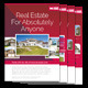 Real Estate Flyer 4 - GraphicRiver Item for Sale