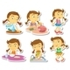 Girl Routine - GraphicRiver Item for Sale