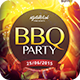 BBQ Party Flyer - GraphicRiver Item for Sale