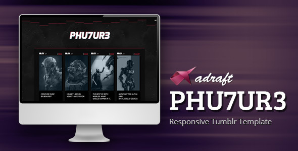 PHU7UR3 - Responsive Tumblr Theme - Blog Tumblr