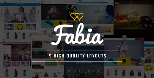 Fabia – OpenCart Theme with 9 Layouts