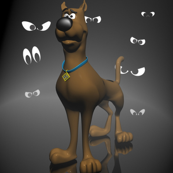 Scooby-doo 3D RIGGED - 3DOcean Item for Sale