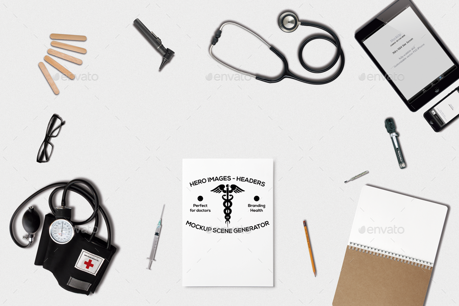 medical mockup generator by gassh graphicriver