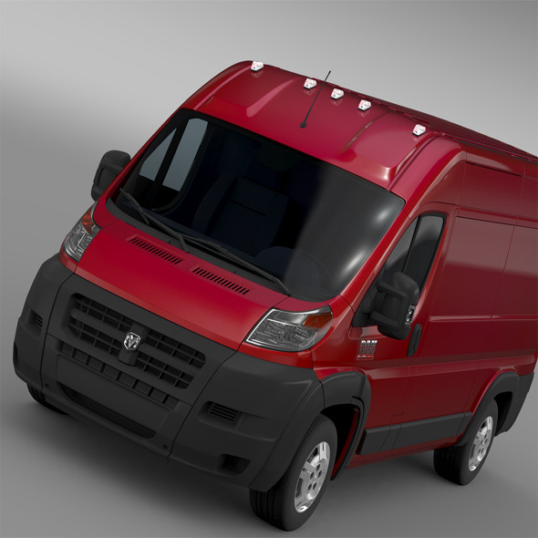 Ram Promaster Cargo 1500 HR 136WB 2015 - 3DOcean Item for Sale