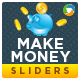Make Money Sliders - 2 Color Variations - GraphicRiver Item for Sale