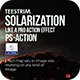 Solarization Action - Photo Effect - GraphicRiver Item for Sale