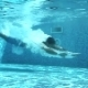 Man Swimming Under Water - VideoHive Item for Sale