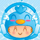 Character Set of a Boy in Blue Bird Costume - GraphicRiver Item for Sale