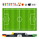 Green Soccer Field with Statistics Elements - GraphicRiver Item for Sale