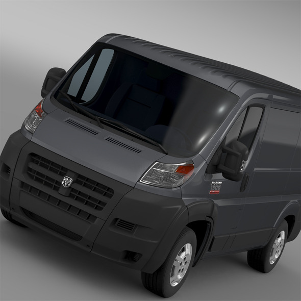 Ram Promaster Cargo 1500 LR 118WB 2015 - 3DOcean Item for Sale