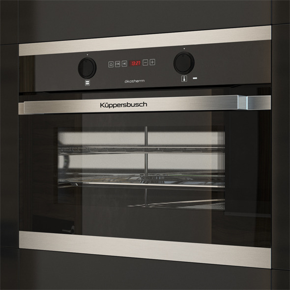 Kuppersbusch EEB6260 Compact Oven Black - 3DOcean Item for Sale