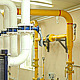 Pipes and Meters in the Boiler Room in the Plant - VideoHive Item for Sale