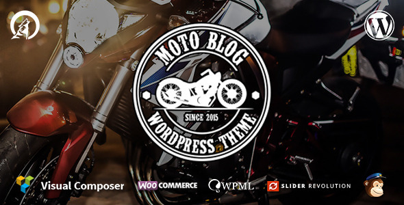 Motoblog – A WordPress Theme for Motorcycle Lovers