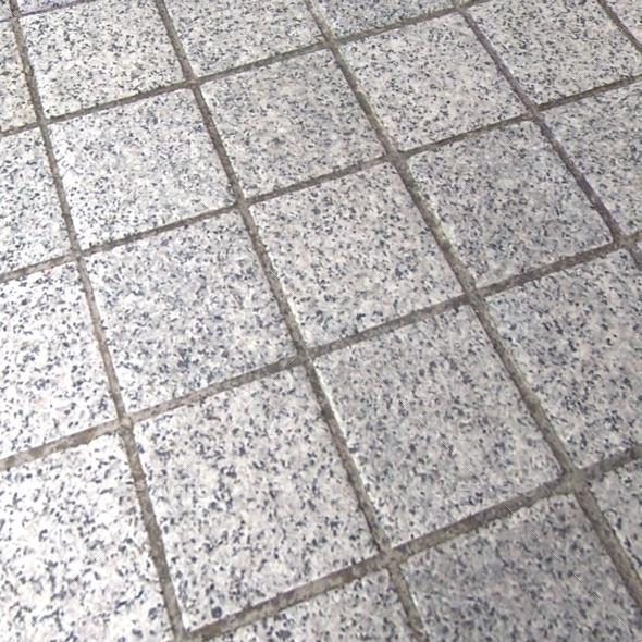 Outdoor Square Floor Tiles Seamless Texture by LuckyFingers 3DOcean