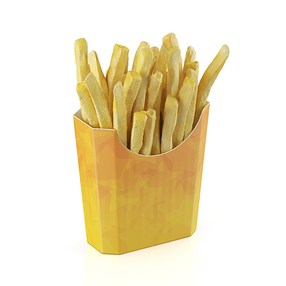French fries - 3DOcean Item for Sale