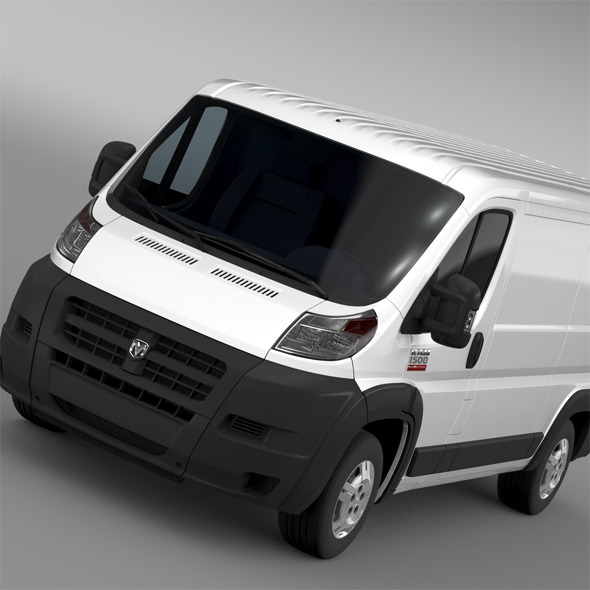 Ram Promaster Cargo 1500 LR 136WB 2015 - 3DOcean Item for Sale