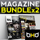 Magazine Template Bundle - InDesign Layout V3 - GraphicRiver Item for Sale