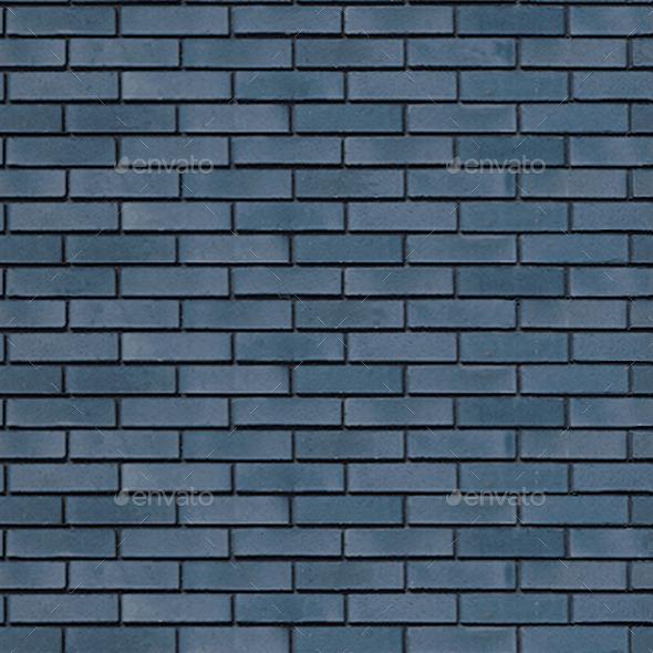 Blue Glazed Brick Texture - 3DOcean Item for Sale