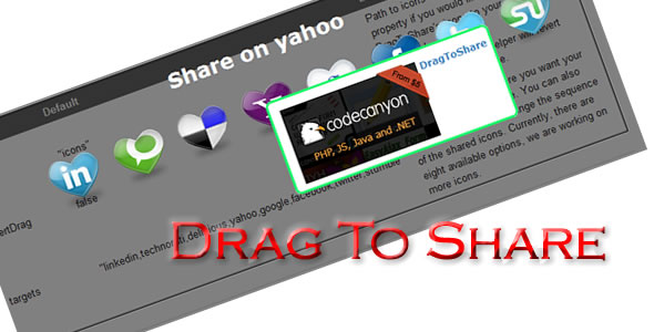 Drag To Share - CodeCanyon Item for Sale