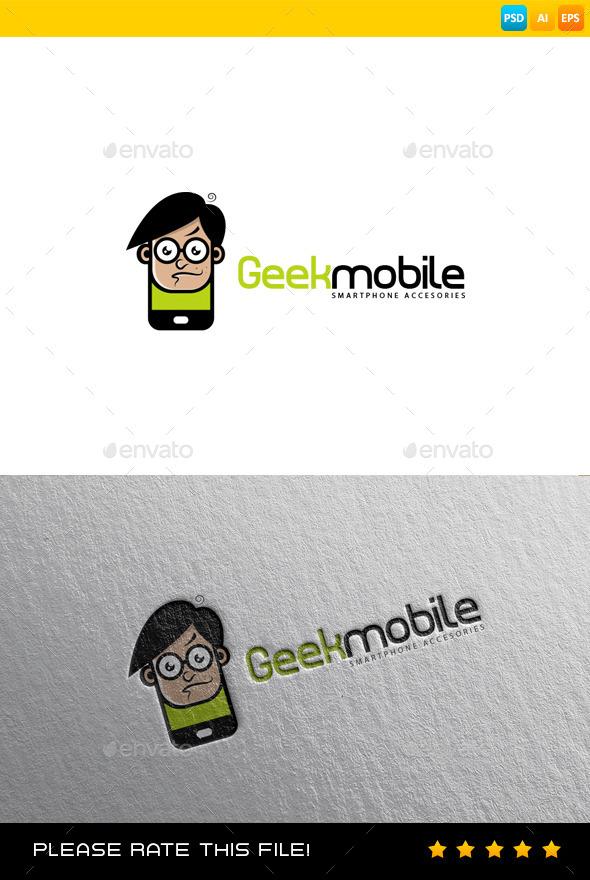 Phone Logo - Humans Logo Templates