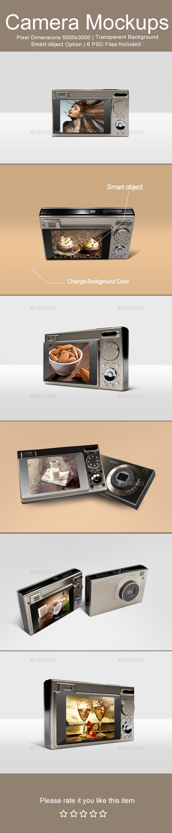 Camera Mock-ups - Miscellaneous Displays