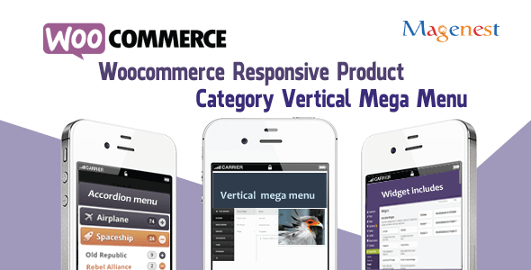 Woocommerce Responsive Product Category Vertical Mega Menu - CodeCanyon Item for Sale