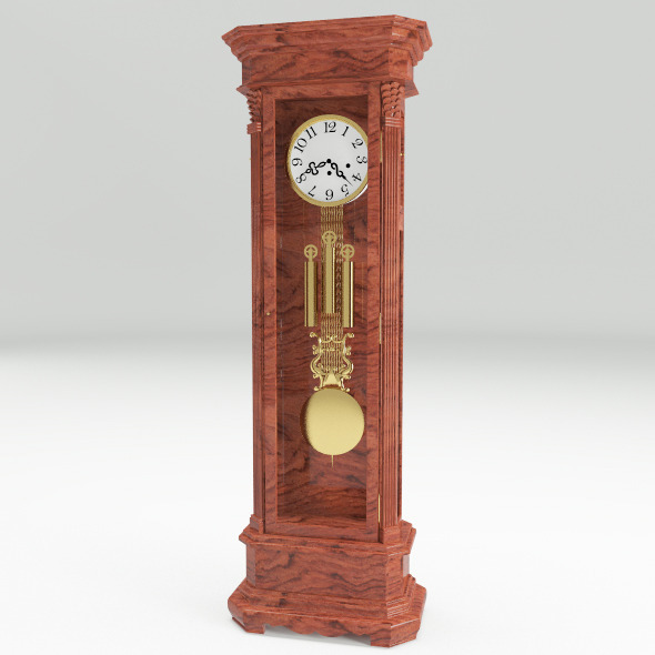 Floor Clock - 3DOcean Item for Sale