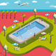 Vacation Resort and NFC Technology - GraphicRiver Item for Sale