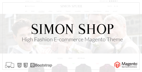 Simon Shop – Responsive Magento Theme