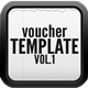 Voucer Card Version 1 - GraphicRiver Item for Sale