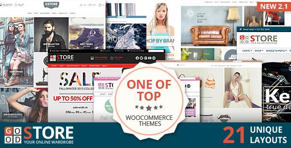 GoodStore – WooCommerce Theme