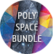 81 Space Backgrounds Bundle - GraphicRiver Item for Sale