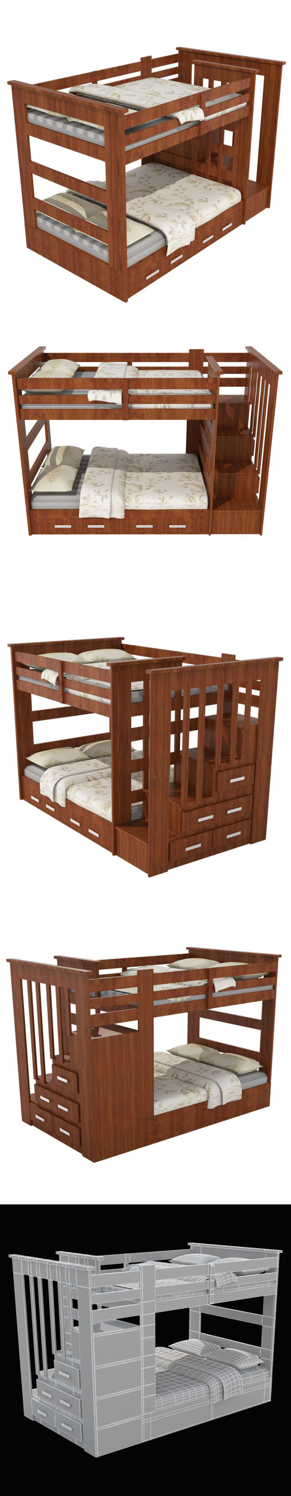Child Bed_1 - 3DOcean Item for Sale