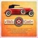 Retro Car Poster - GraphicRiver Item for Sale