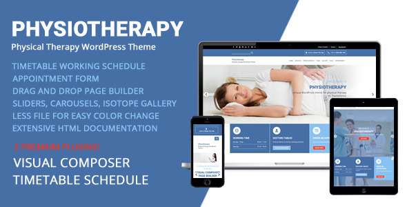 Physiotherapy – Physical Therapy WordPress Theme