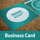 Square Business Card -02 - GraphicRiver Item for Sale