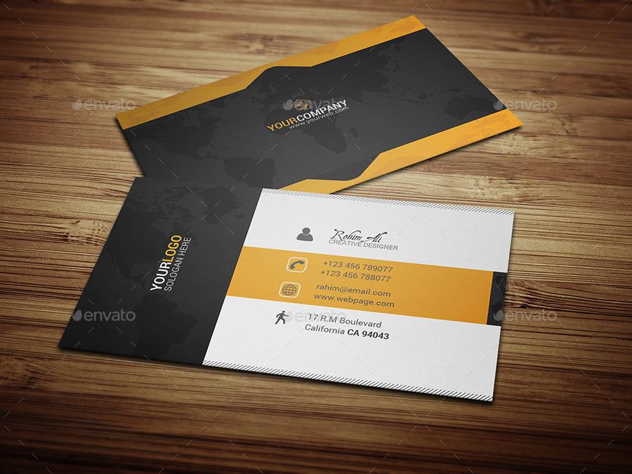 Creative Designer Business Card by mosaddek | GraphicRiver