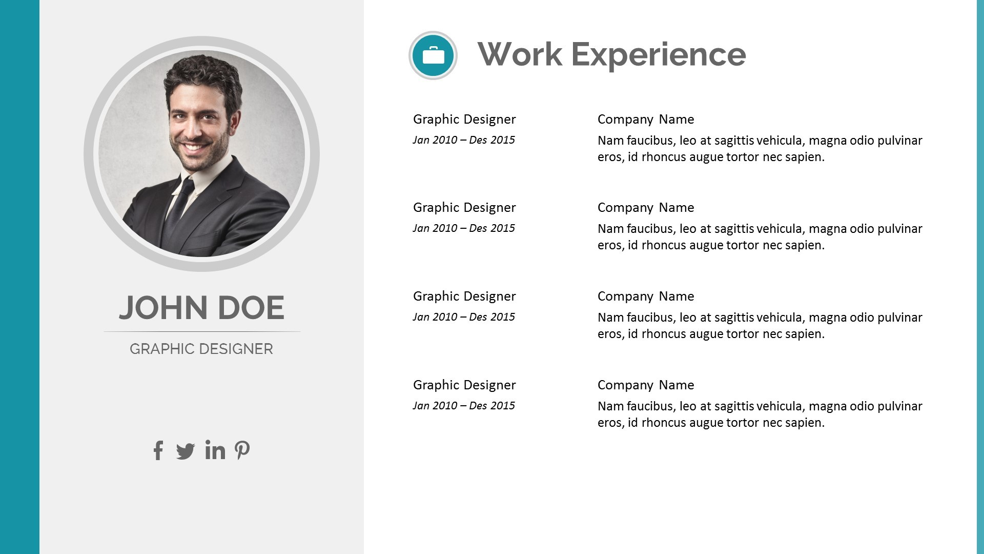 jpg screenshotsresume 5 - Powerpoint Resume Template