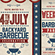 4th July BBQ Flyer - GraphicRiver Item for Sale